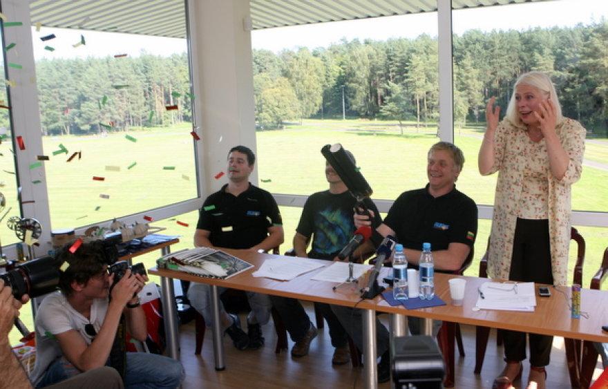 """Pavadinimas""""Vilniaus fejerija 2009"""" organizatoriai rugsėjį pažadėjo įspūdingą šviesų ir muzikos reginį."""