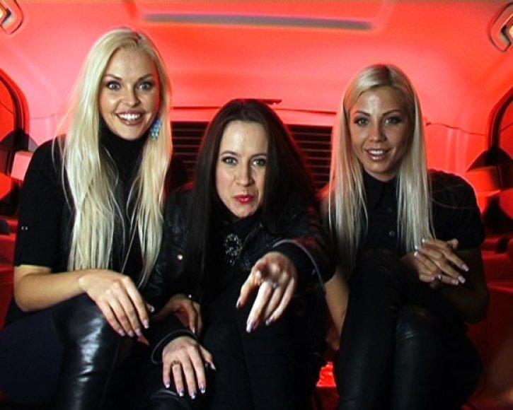 (Iš kairės) Skaistė, Ingrida ir Marina
