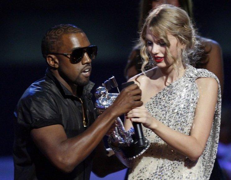 Kanye Westas ir Taylor Swift