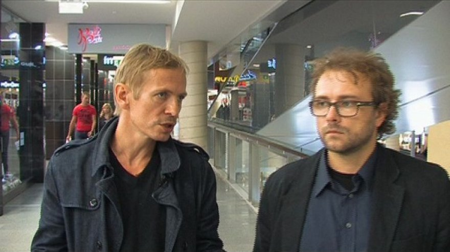 Š.Bartas ir R.Zemkauskas (dešinėje)