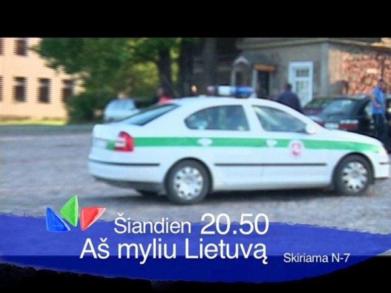 """Laidos """"Aš myliu Lietuvą"""" kadras"""