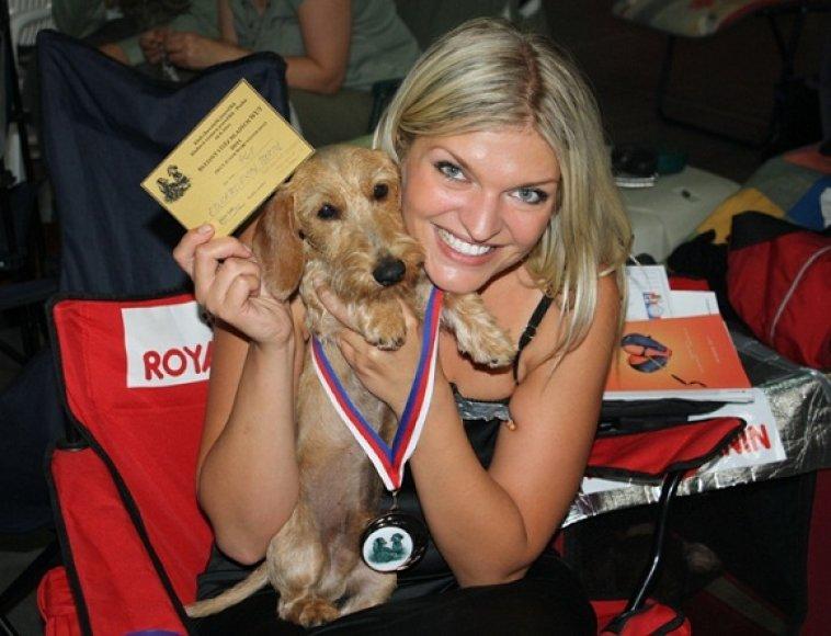 Skaivos augintinis Rišelis – pasaulio jaunimo čempionas.
