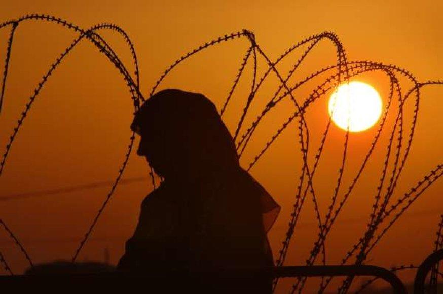 90 proc. Afganistano moterų patiria smurtą namuose