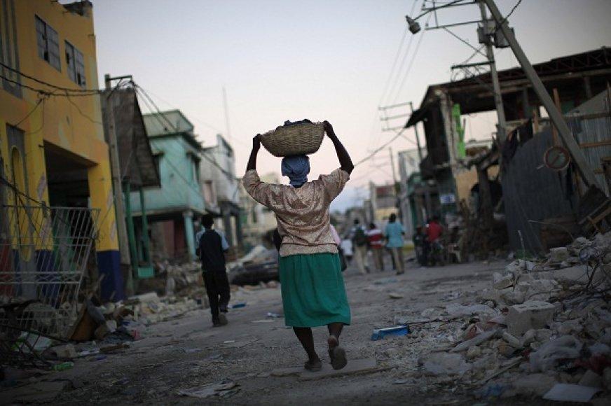 Haitis – viena iš prasčiausių vietų gyventi moteriai
