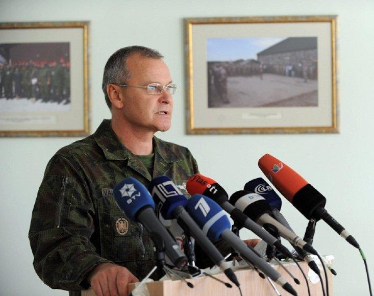 Jungtinio štabo viršininkas brigados generolas Algis Vaičeliūnas