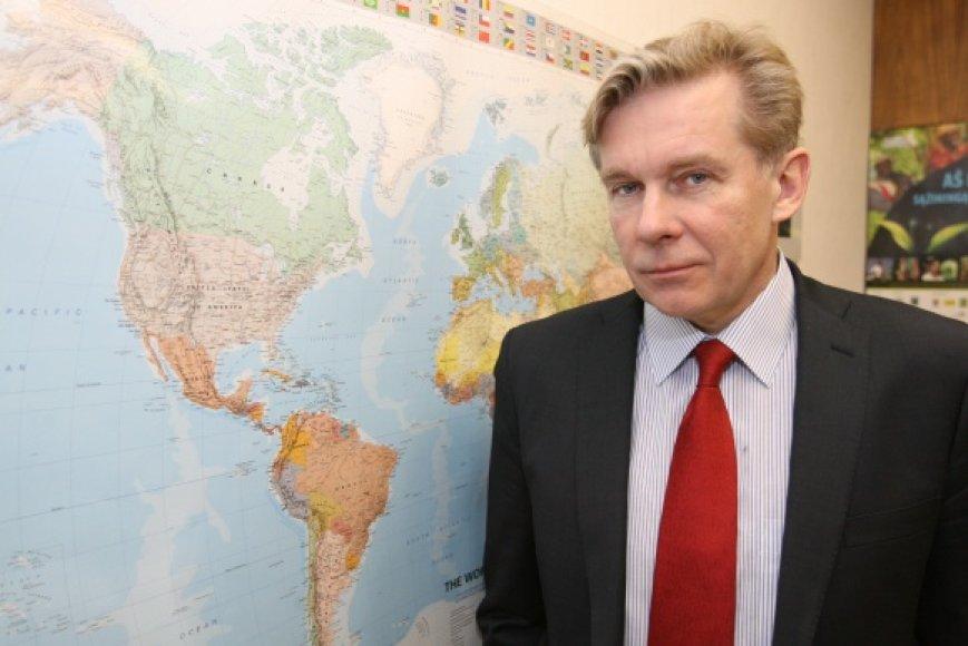Užsienio reikalų ministras Audronius Ažubalis