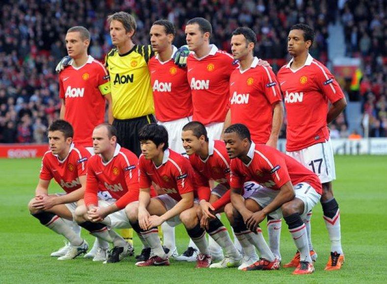 """Manchester United"" vienuolikė"