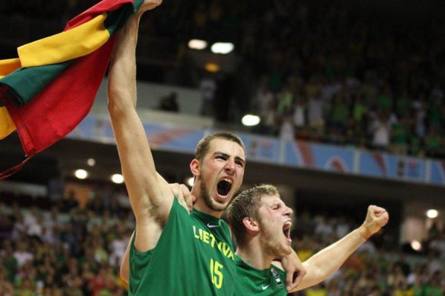 Vyriausybė skyrė 150 tūkst. litų premiją Lietuvos jaunųjų krepšininkų rinktinei