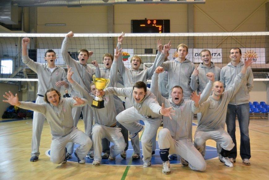 "Vilniaus ""Flamingo Volley-SM Tauras"" tinklininkai"