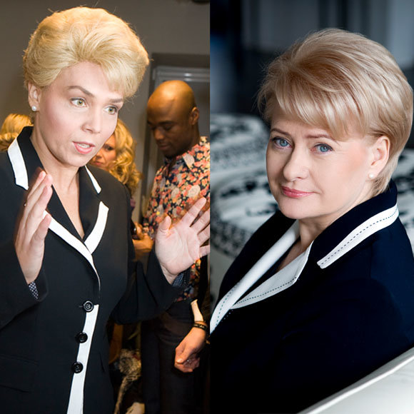 Aušra Kilkuvienė ir Prezidentė Dalia Grybauskaitė