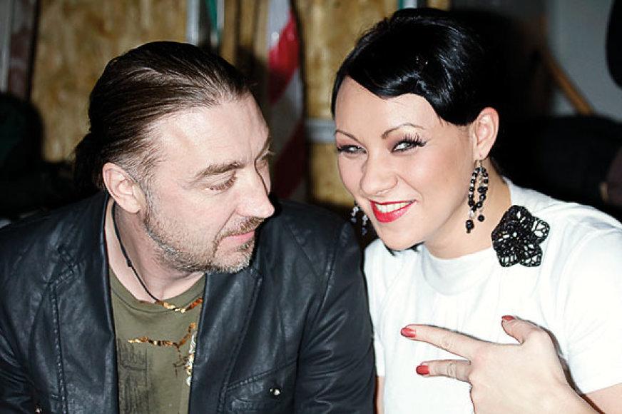 Vladas Kovaliovas ir Giedrė Balutytė