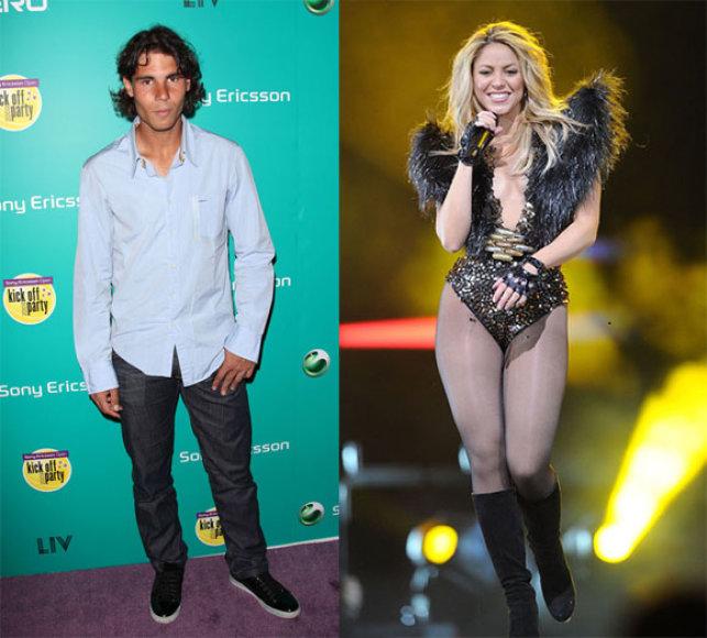 Raphaelis Nadalis ir Shakira