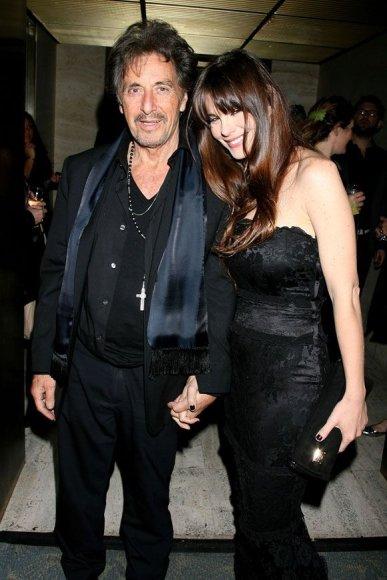 Alas Pacino su drauge Lucila Polak Sola