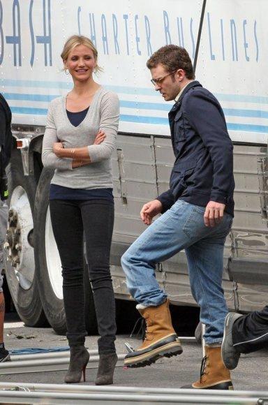 Cameron Diaz ir Justinas Timberlake'as