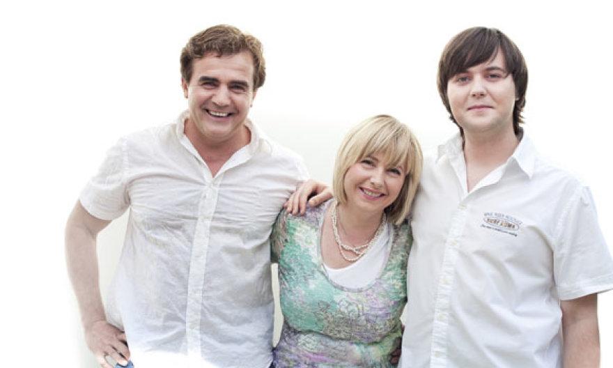 Genadijus, Ingrida ir Mažvydas Kravčenkos
