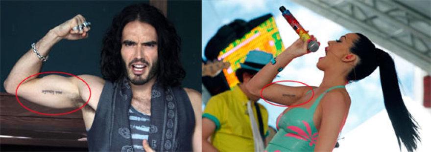 Russellas Brandas ir Katy Perry