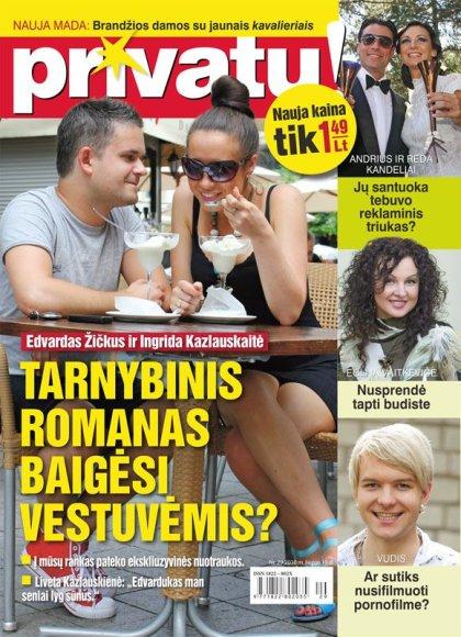 Edvardas Žičkus ir Ingrida Kazlauskaitė