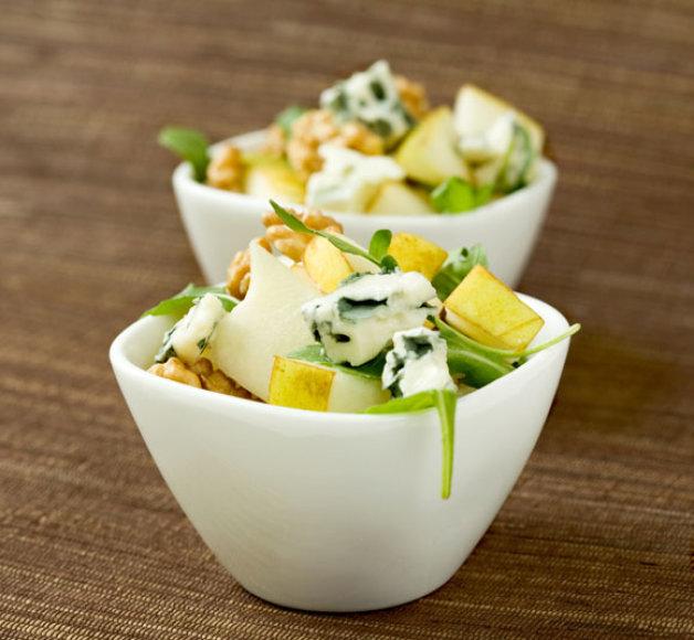 Gaivios kriaušių salotos