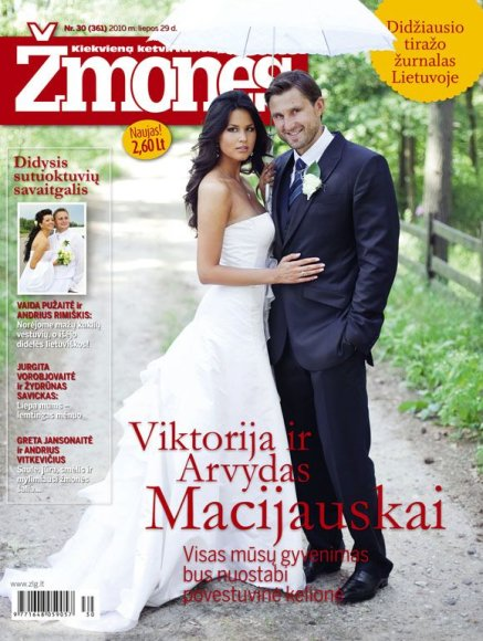 Viktorija Buder ir Arvydas Macijauskas