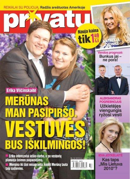 Merūnas Vitulskis ir Erika Vilčinskaitė