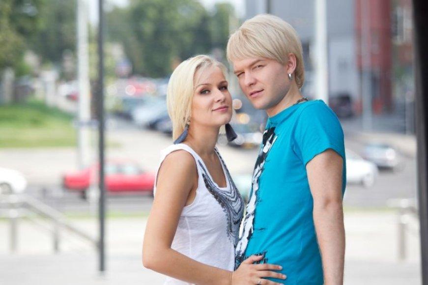 Arvydas Martinėnas-Vudis ir Kristina Mažeikaitė