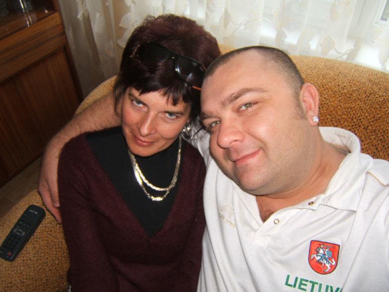 Eugenijus Ostapenka su ponia Jolanta