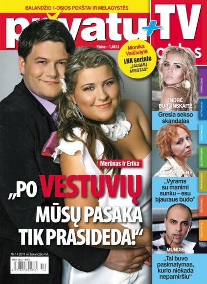 Erika Vilčinskaitė ir Merūnas Vitulskis