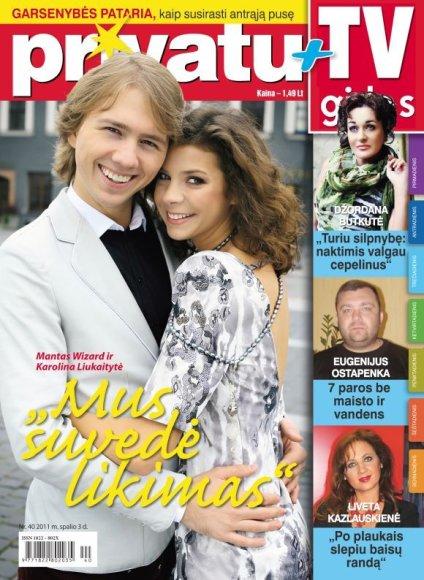 Karolina Liukaitytė ir Mantas Wizard