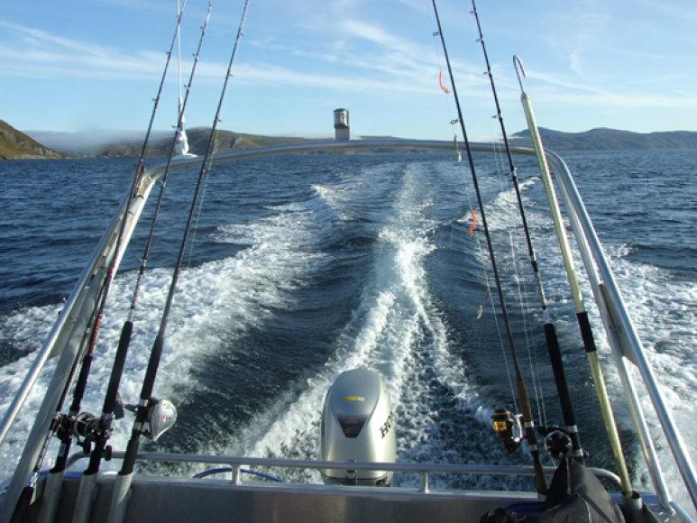 Kai atvyksti į šiaurės platumas, patartina įsiklausyti į kiekvieną instruktažą, kad žinotum, kaip elgtis atviroje jūroje