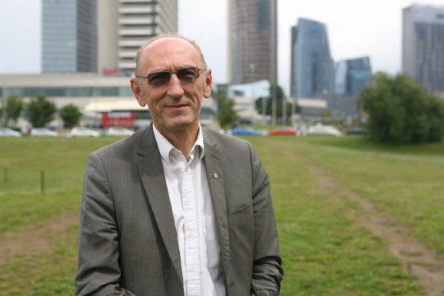Buvęs sąvartyno direktorius G.Čukauskas teigia nežinąs, kodėl buvo atleistas.