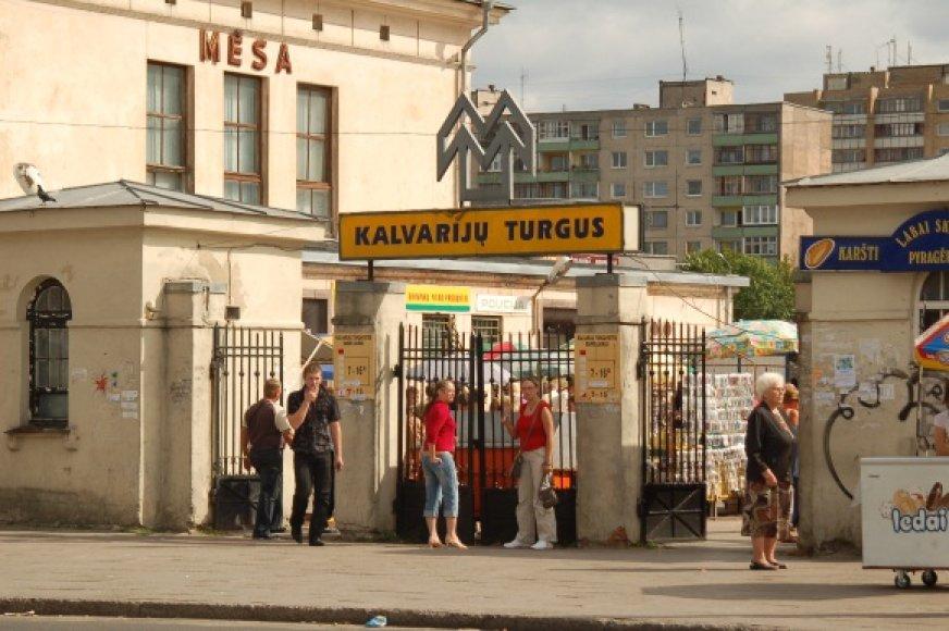 Kalvarijų turgaus nuomos konkursas įstrigo mažiausia mėnesiui.