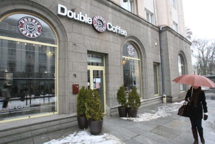 """Jau po kelių savaičių """"Double Coffee"""" Vilniuje gali nebelikti, nors šias kavines valdančios bendrovės vadovas tvirtina, kad veikla bus tęsiama."""