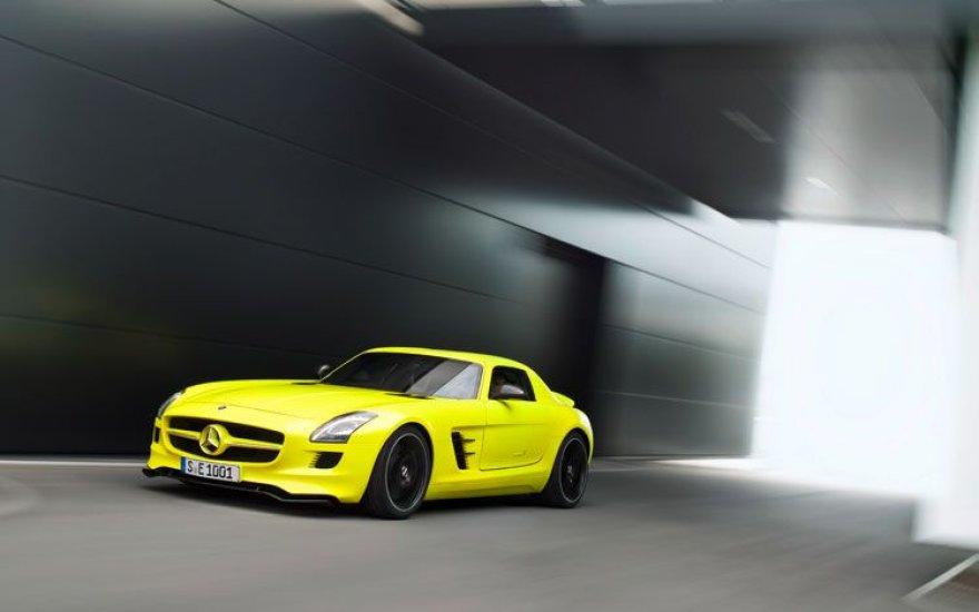 """Mercedes Benz AMG SLS E-Cell"""