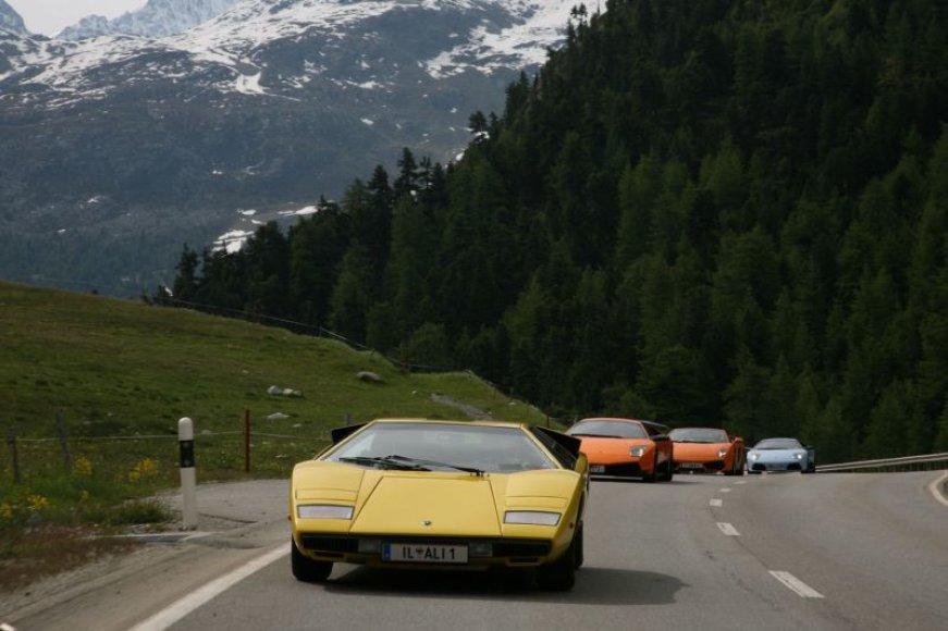 """Lamborghini"" karavanas"