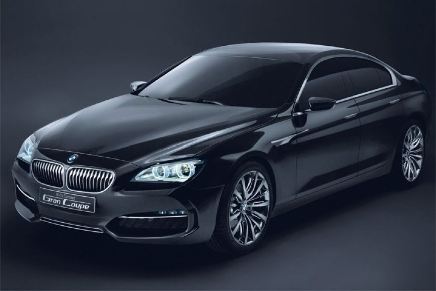 """BMW Gran Coupe"" koncepcinis modelis"
