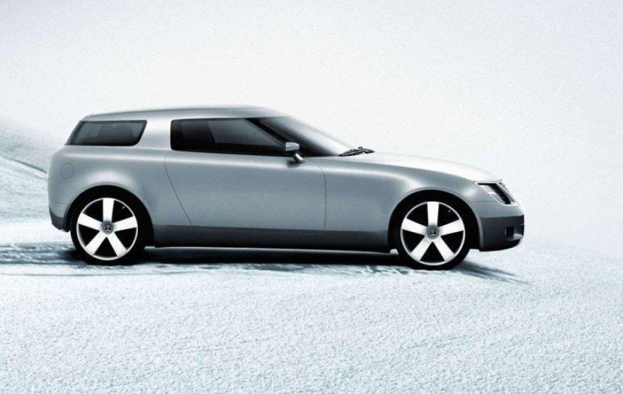 """SAAB Aero 9X"" konceptinis automobilis"