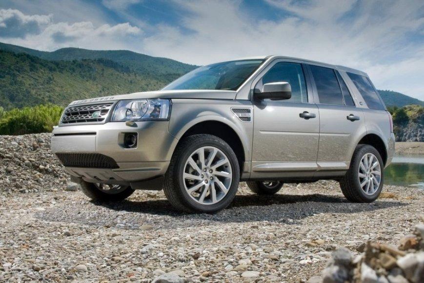 """Atnaujintas """"Land Rover Freelander"""""""