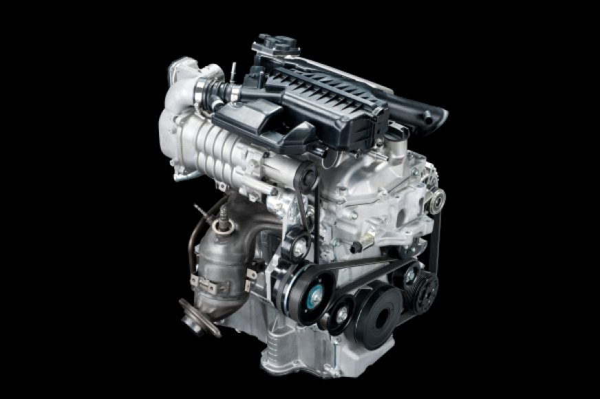 """Nissan"" 1,2 l trijų cilindrų Millerio ciklo variklis"