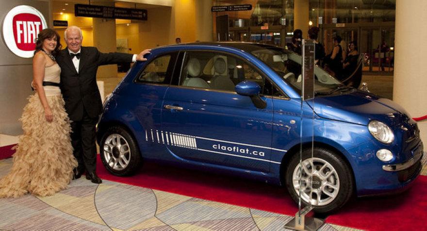"""""""Fiat 500"""" Kanadoje parduotas aukcione už 212 tūkst. lt."""