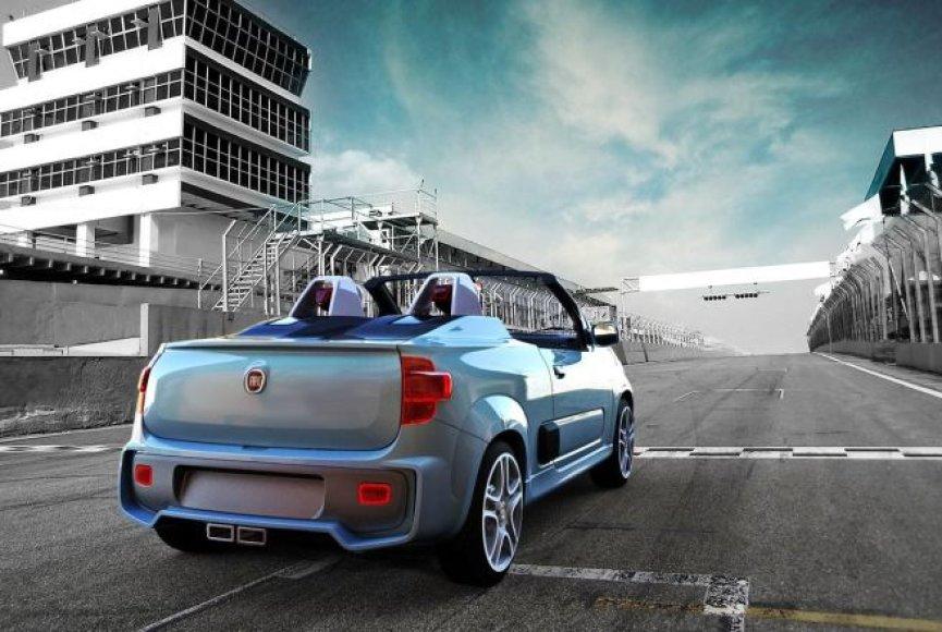 """""""Fiat Uno Cabriolet"""" koncepcija"""