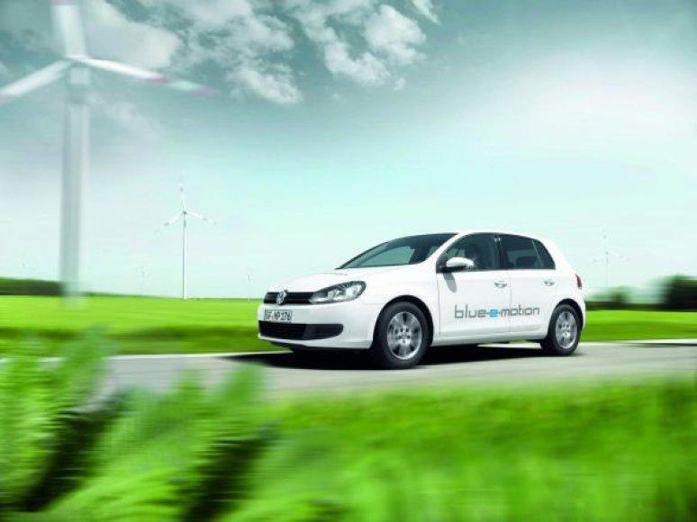 "Elektrinis ""VW Golf-e-motion"" jau 2014 metais!"