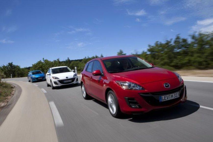 """""""Mazda3"""" su naujuoju 1,6 litro dyzeliniu varikliu"""
