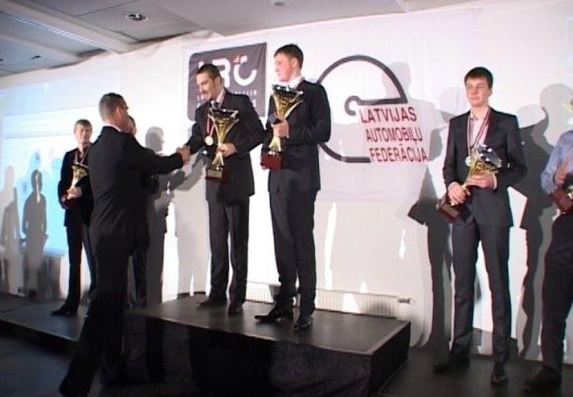 Greičio Linija. Latvijos ralio čempionato apdovanojimai