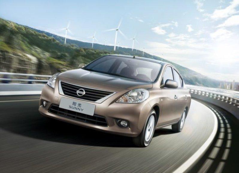"""""""Nissan Sunny"""" – visam pasauliui"""