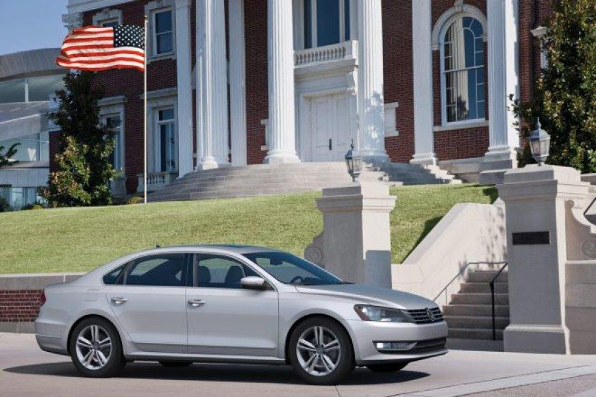 """Naujas """"VW Passat"""". Tik Šiaurės Amerikos rinkai..."""