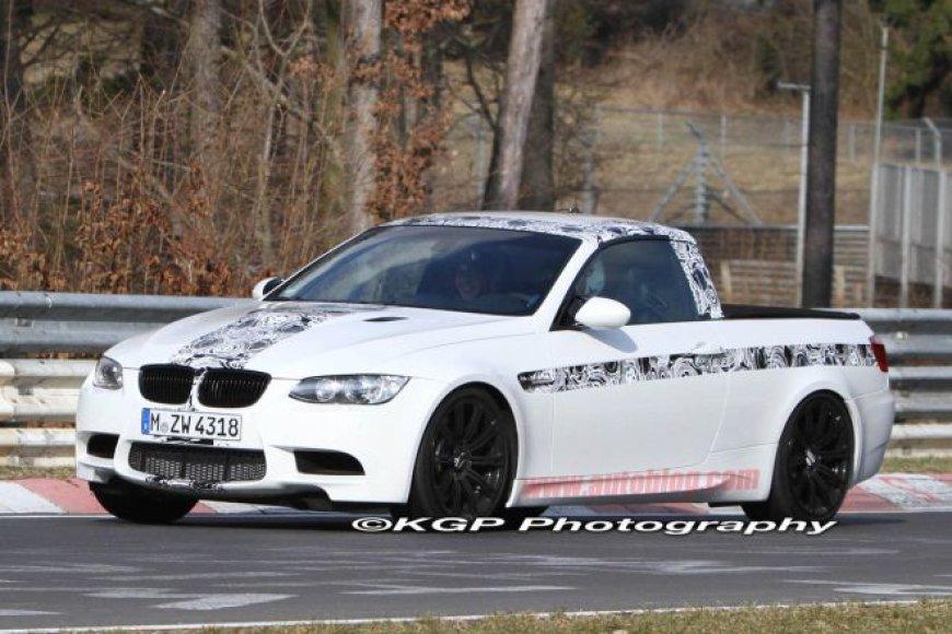 BMW M3 pikapo kėbulu