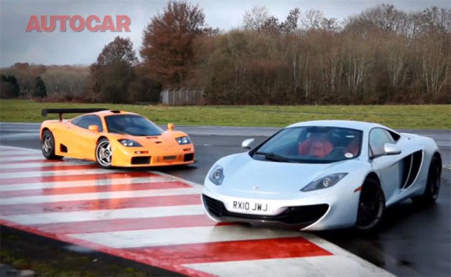 """""""McLaren"""" vakar ir rytoj – F1 GTR prieš MP4-12C"""