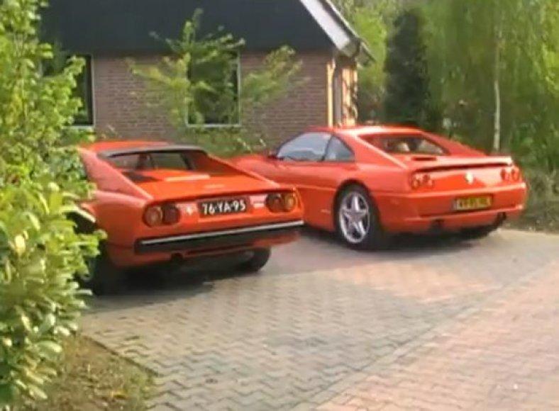 """Šalis, kurioje visi važinėja """"Ferrari"""""""
