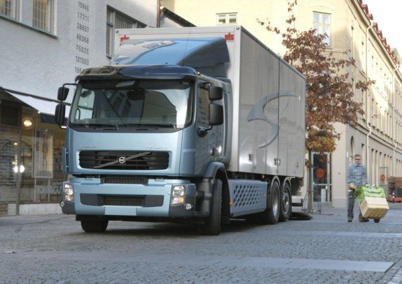 """""""Volvo FE Hybrid"""" sunkvežimis"""