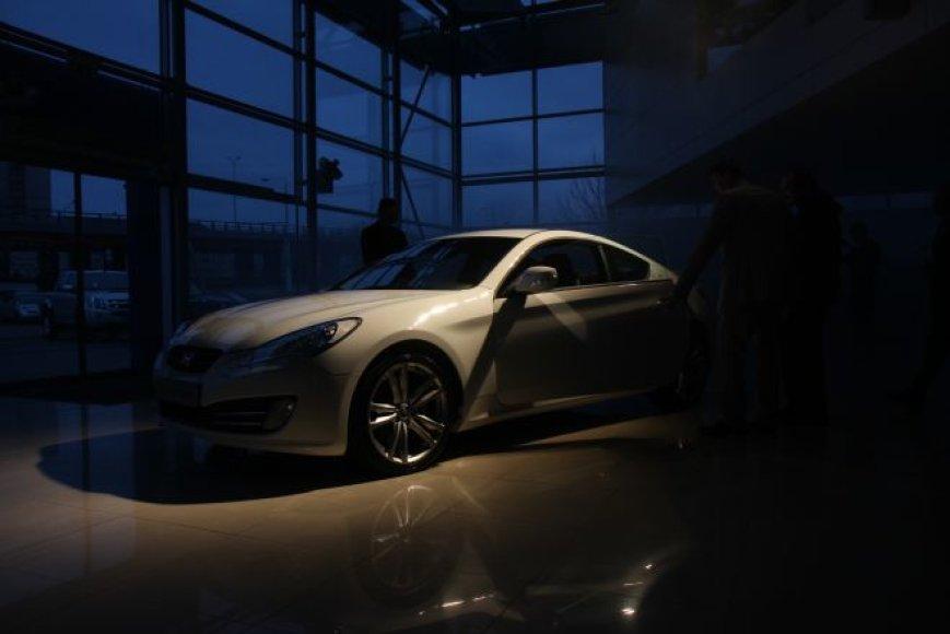 """""""Hyundai Genesis Coupe"""" pristatymas"""